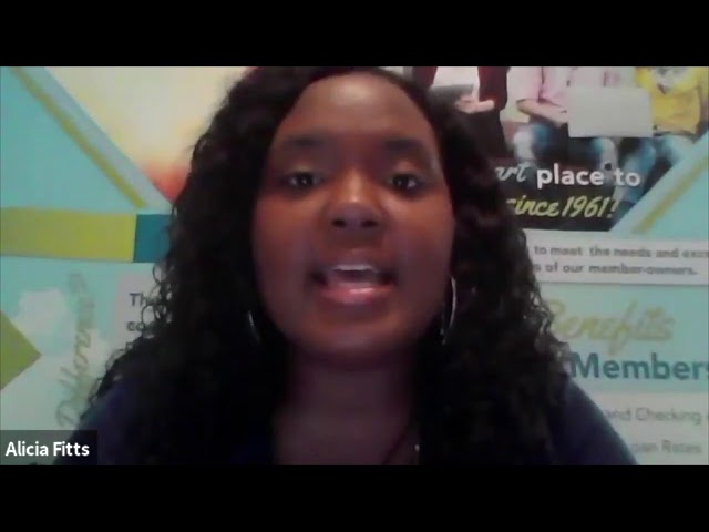 CSE Green Table Talks - Partner Spotlight - Alicia Fitts, Peach State FCU