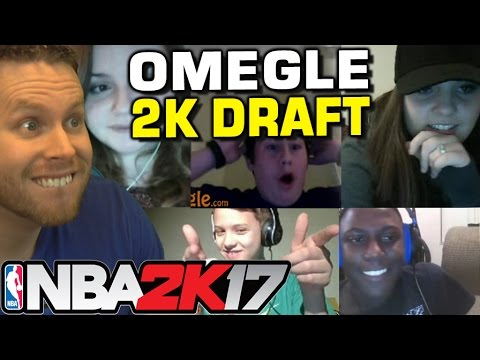 NBA2K17 OMEGLE MYTEAM DRAFT! LOTS OF GIRLS!