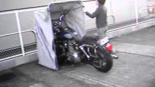 The Bike Shield For Motorcycle Shelter, Storage, Garage, Cover, Tent