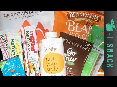 Fit Snack Unboxing - Healthy Food Subscription Box