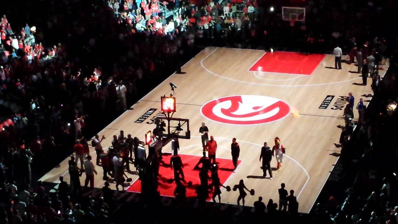 Atlanta Hawks Eastern Conference Finals game 2 intro