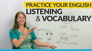 Practice your VOCABULARY, LISTENING, and COMPREHENSION with this game
