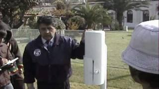 Explicación sobre el instrumento que mide precipitación, llamado pluviometro