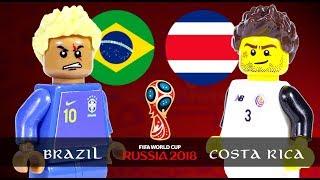 LEGO World Cup 2018 BRAZIL Vs COSTA RICA