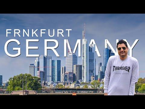 Frankfurt in Germany | Free Walking Tour & Main Tower | Europe Trip EP-22