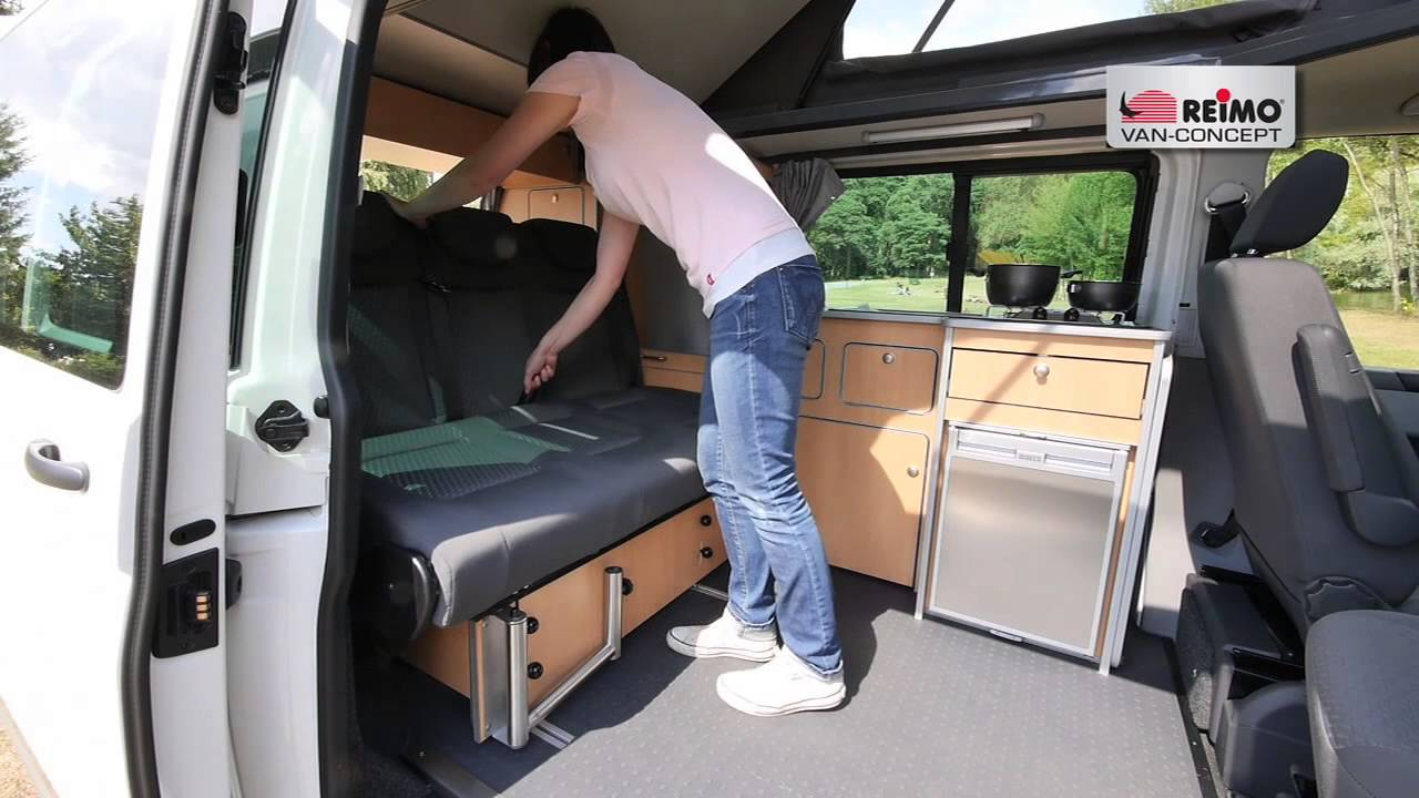 campingbus reimo sportcamper auf vw t5 youtube. Black Bedroom Furniture Sets. Home Design Ideas