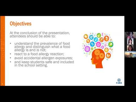 ASHA Webinar August 19 2020 Food Allergy 101