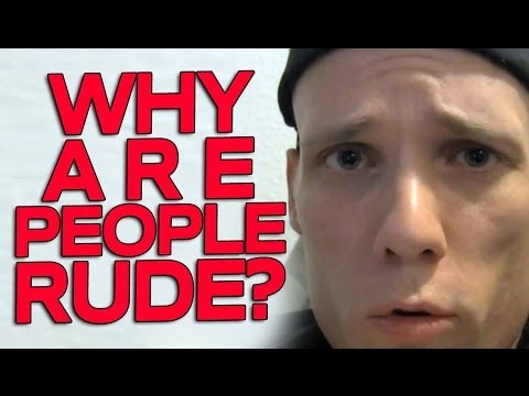 Why are People Rude - How to Deal with Verbal Abuse and insults