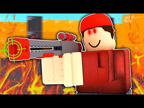 I Pretended To Use Aimbot In ROBLOX Arsenal...