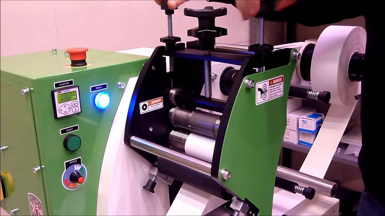 MMR 140 Label Die Cut Machine