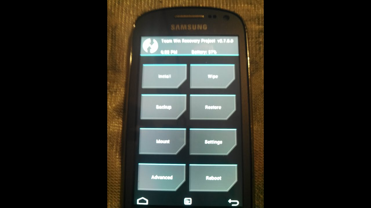 How to flash TWRP custom recovery on the SGH-T599N