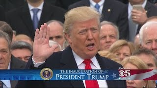 Donald Trump Inaugurated As 45th President Of United States
