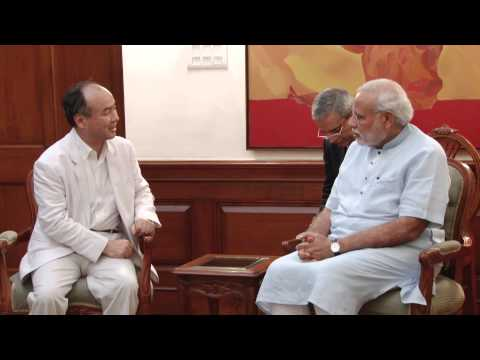 SoftBank Corporation Chairman & CEO calls on PM Modi