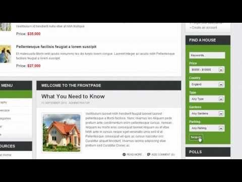JoomlArt Extensions Tutorials - JA K2 Filter