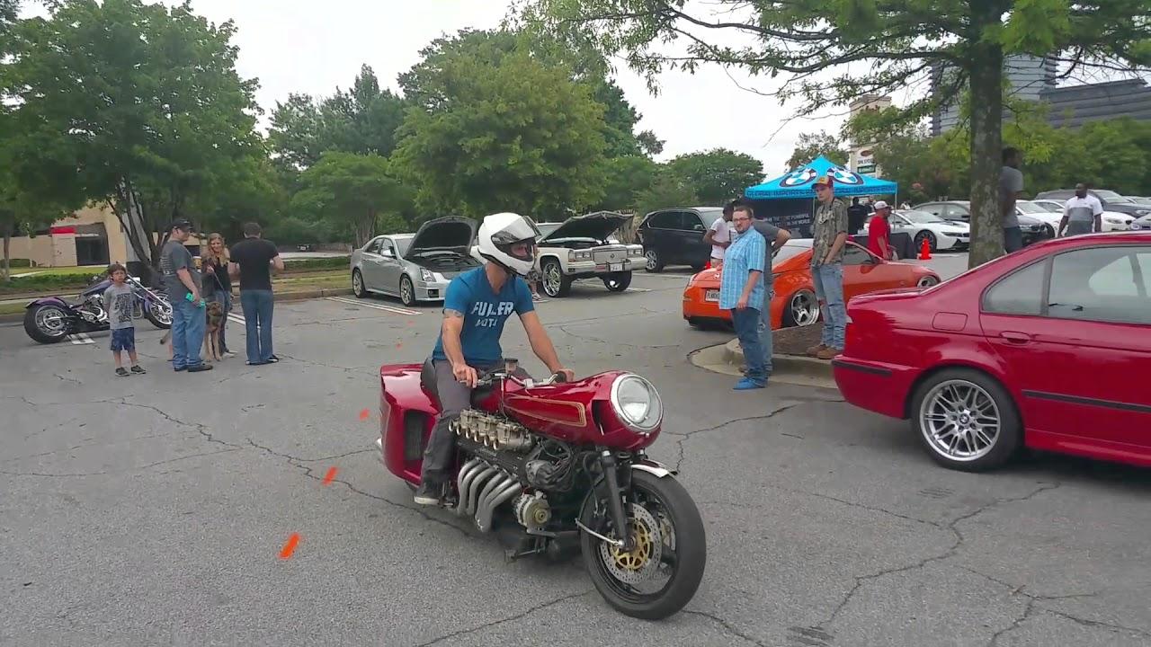 V12 Lambo Powered Motorcycle 2016 Caffeine And Octane Atlanta