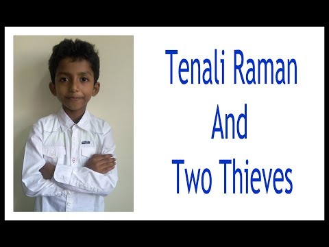 Tenali Raman And Two Thieves || Stories || Kids Stories || StoryTelling || Moral Story