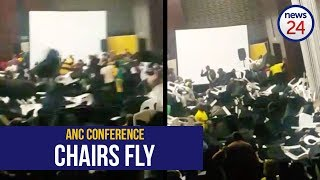 WATCH: Chairs fly during ANC Eastern Cape conference