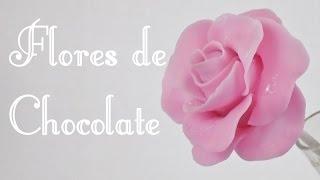 Flores de chocolate para mamá 🌹