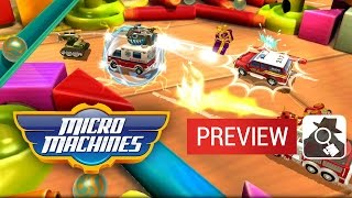 AS GOOD AS YOU REMEMBER? | Micro Machines iPhone & iPad Hands-On