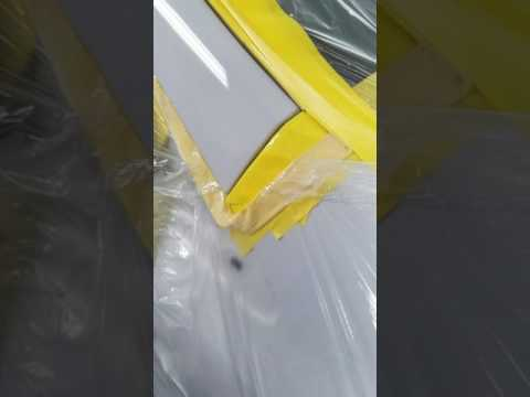 Spray painting ur car clear coat prayedd with Sata jet 5000brp 1.2 clearcoat first time use