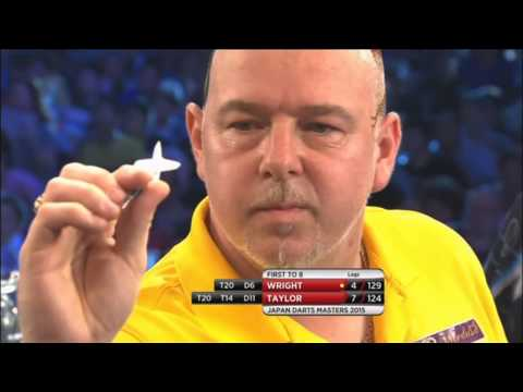 Peter Wright Brilliant Finishes! Japan Darts Masters 2015
