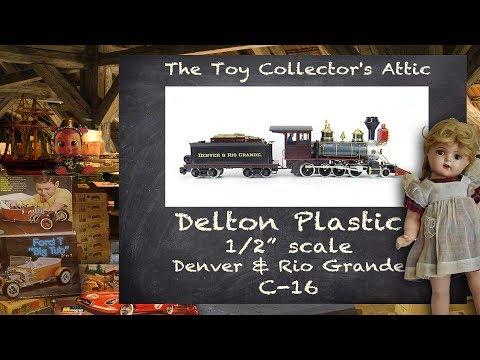 Amazing large scale locomotive - 1989 Delton 1/2 inch scale Denver and Rio Grange C16