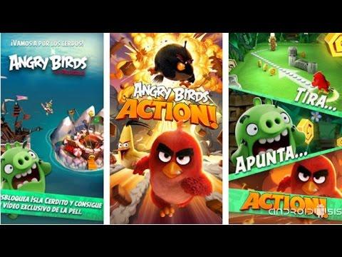 Descarga Ya Angry Birds Action, Lo Nuevo De Rovio Ya Disponible Gratis En El Play Store De Google