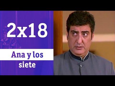 Ana y los siete: 2x018 - Con la mano en el corazón   RTVE Series