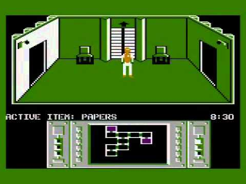 The Infiltrator - Atari 800XL - Mission 1 Walkthrough (Parte 1)