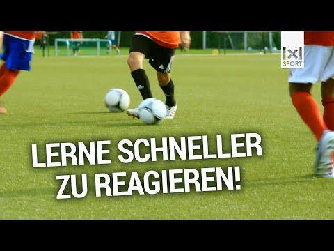 C- und B-Jugend Fußballtraining: Dreifarbenspiel