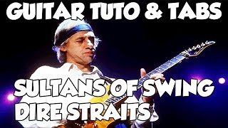SULTANS OF SWING TUTO FR DIRE STRAITS GUITAR TUTO TABS