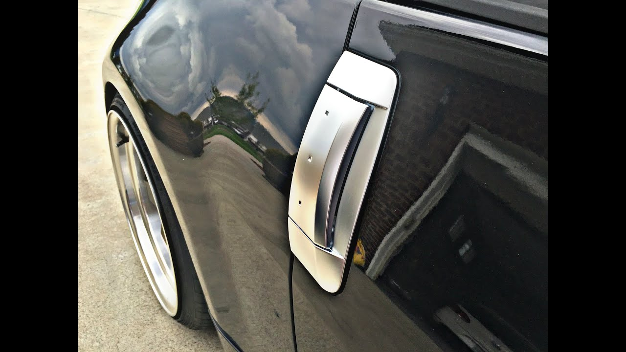 350Z Door Handle Install - YouTube