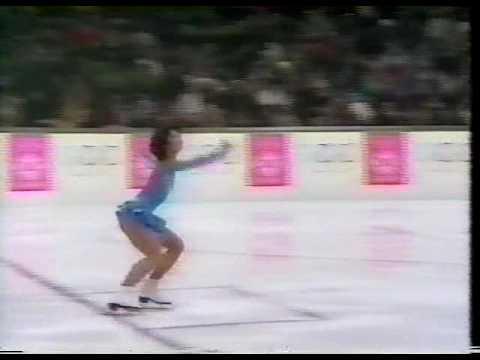 Tiffany Chin (USA) - 1984 Sarajevo, Figure Skating, Ladies' Short Program