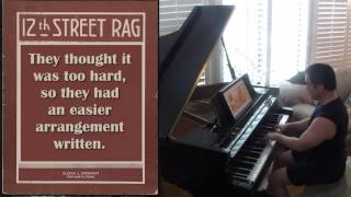 12th Street Rag - Liberace Style - Pianist Don Puryear