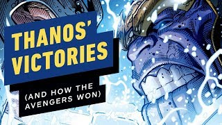 Thanos' Greatest Victories (And How The Avengers Stopped Him)