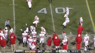 Wisconsin vs. Penn State Game Highlights -- Senior Day 2012