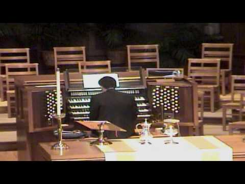 HD Mendelssohn War March of the Priests  - John Hong Organ 멘델스존 워 마치 2002