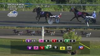 Mohawk, Sbred, Aug. 8, 2016 Race 1