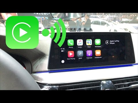 CarPlay WiFi (sans fil) : on a testé au Salon de l'Auto de Genève !