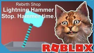 Buying *NEW* Lightning Hammer | Roblox Mining Simulator