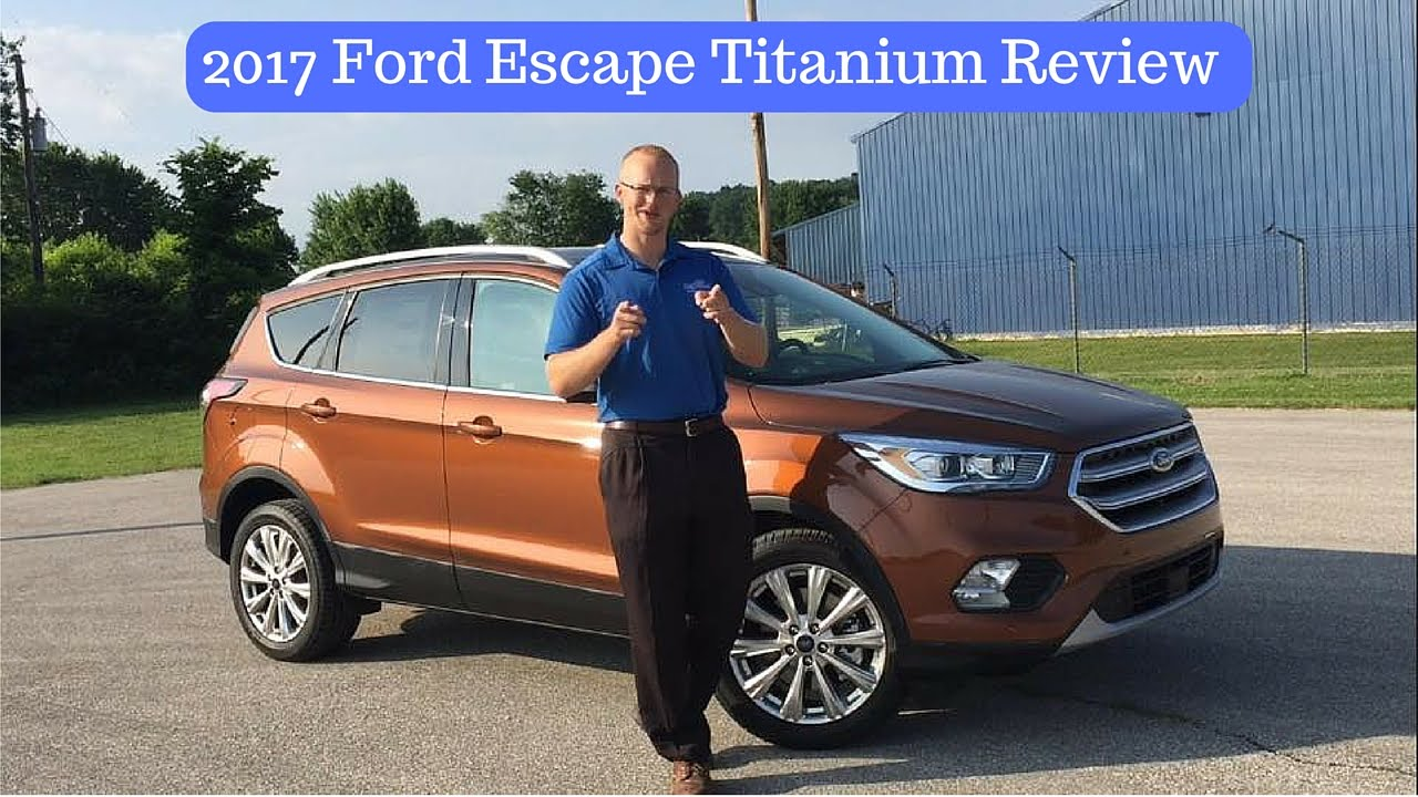 2017 ford escape titanium review by alex buker at andy mohr ford plainfield in youtube. Black Bedroom Furniture Sets. Home Design Ideas