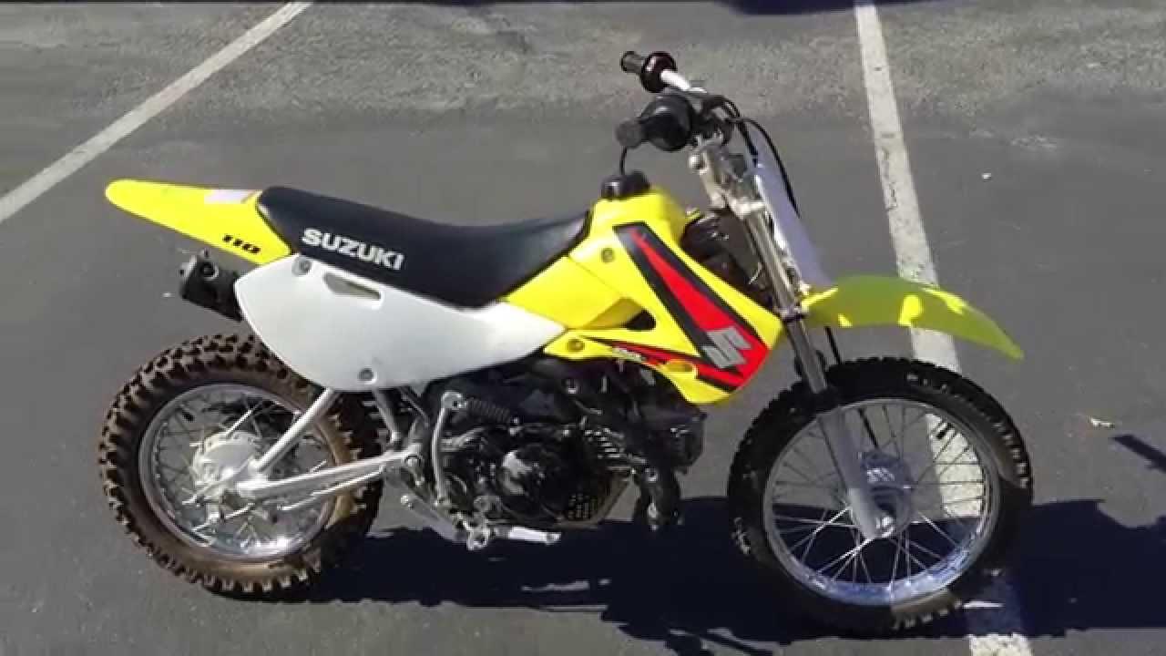 Contra Costa Powersports-Used 2005 Suzuki DR-Z110 kids 4-stroke dirt