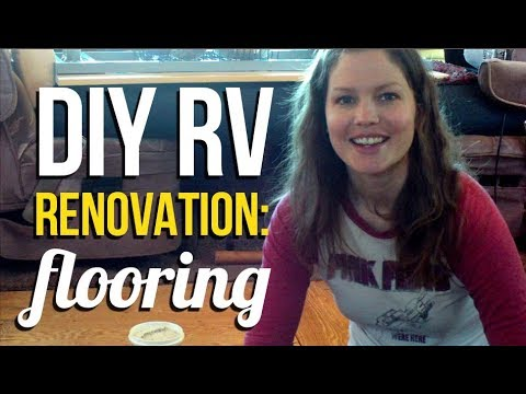 Rv Living Motorhome Flooring Renovation Youtube