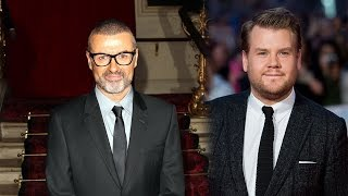 James Corden Pays Tribute to George Michael Says He Inspired
