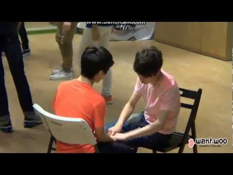 SEVENTEEN TV 130629 Hansol and Chan cute moment cut