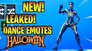 *NEW* LEAKED DANCE EMOTES!! (SKULL RANGER SKIN!) Fortnite Battle Royale
