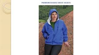 Outerwear | Ladies Premium Nylon Hooded Sweat Jacket | Promoline1