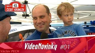 45. Rallye Český Krumlov 2017 - rozhovory před startem