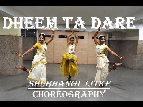 Dheem Ta Dare | DANCE cover | Shubhangi Litke Choreography