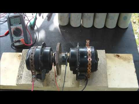 Electric Motor to Motor, can they self run?